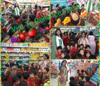 Visit To Reliance Fresh