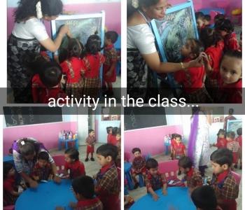 Activity In The Class